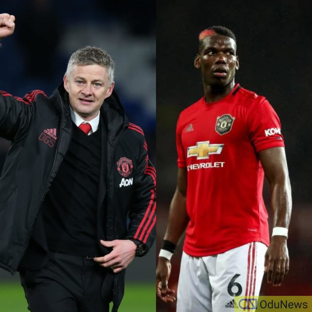 Solskjaer speaks on Pogba's future at United