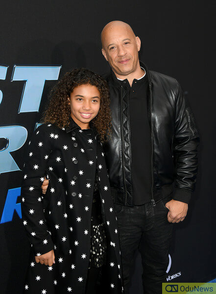 Vin Diesel, who is pictured with his daughter, Similce, is an executive producer of the series