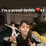 Ronaldo Jr Wins Tournament, Named Best Striker