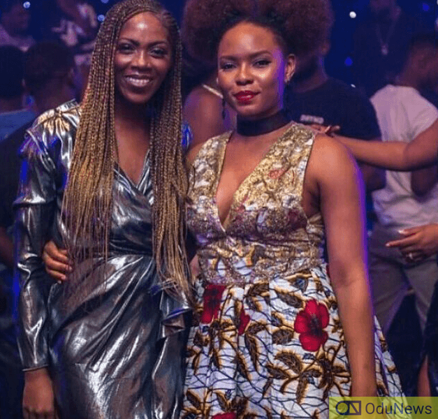 Tiwa Savage and Yemi Alade came together to show that all was cool between them