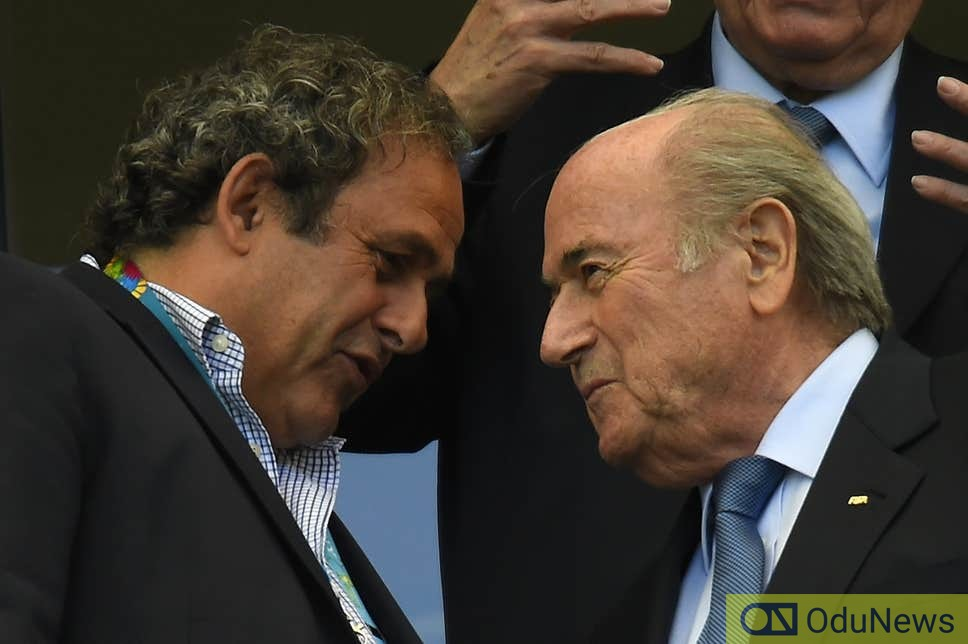 FIFA To Sue Sepp Blatter, Micheal Platini To Recover £1.5m