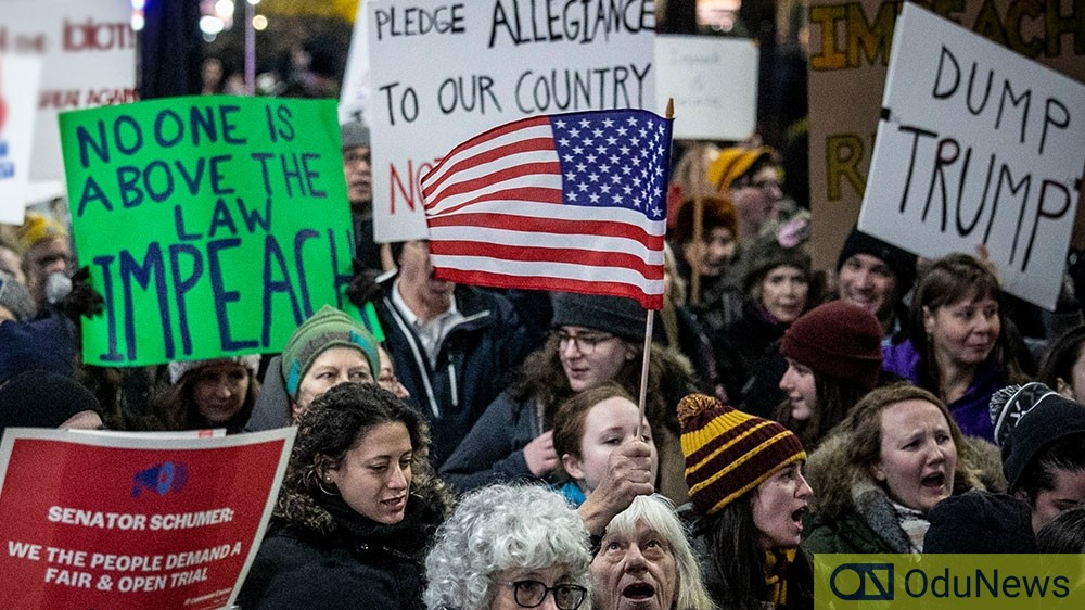Americans Rally Ahead Of House Impeachment Vote