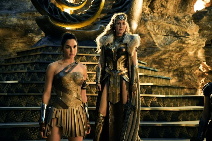 Diana Prince/Wonder Woman and her mother, Queen Hippolyta