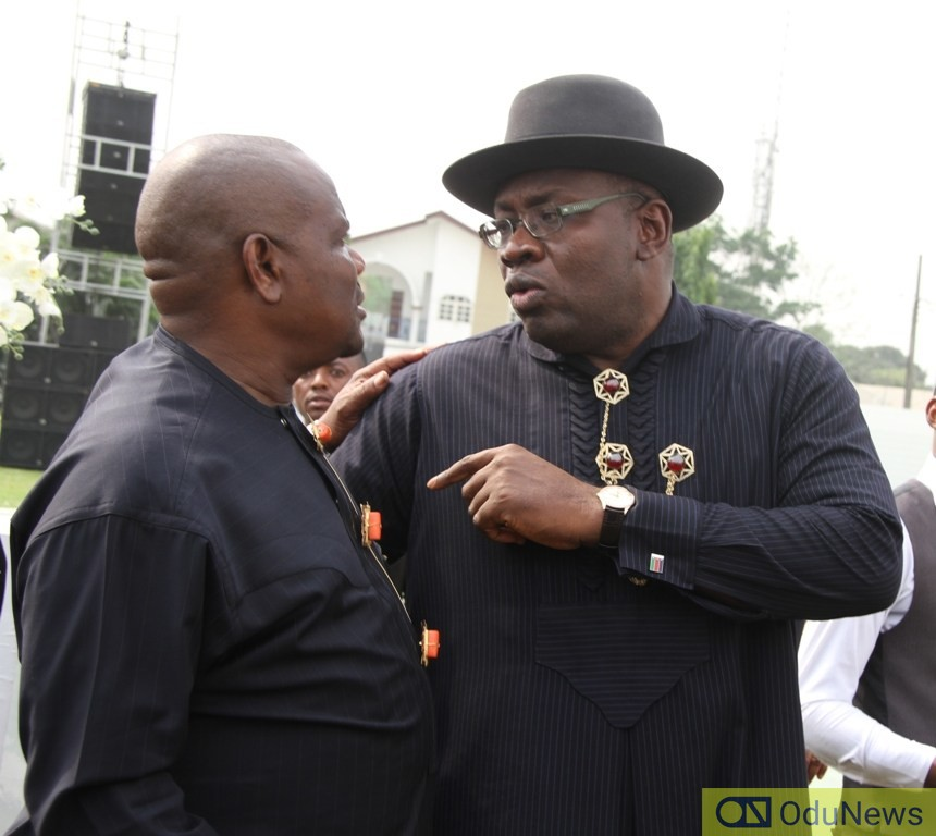 Crisis Looms In South-South PDP As Wike Attacks Dickson