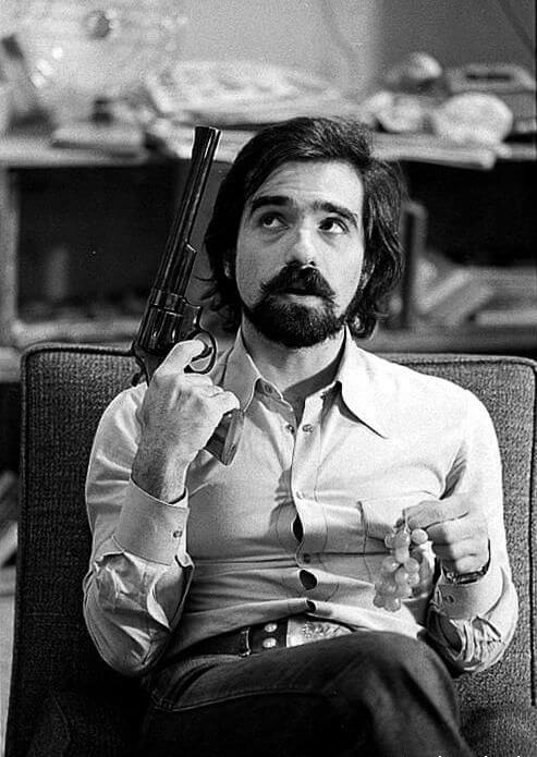 Scorsese as a young man
