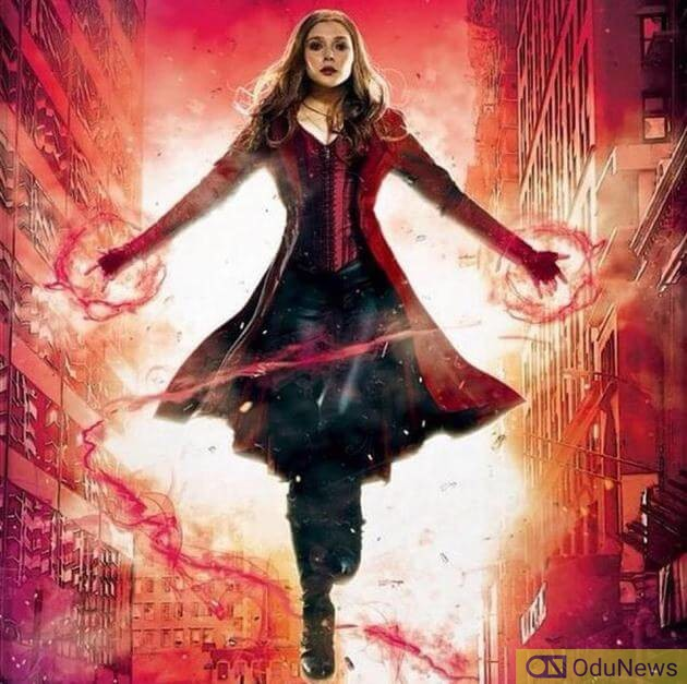 Wanda Maximoff a.k.a. Scarlet Witch is played by E;izabeth Olsen