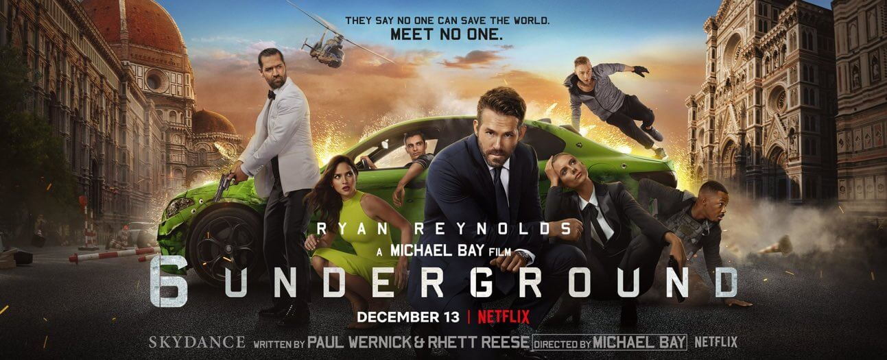 6 Underground Movie Poster