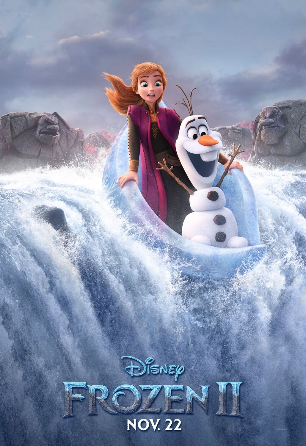 Frozen two poster