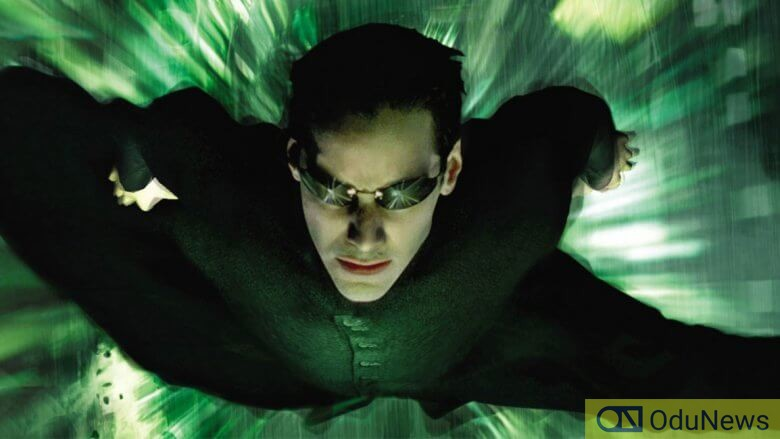 Reeves as Neo in The Matrix Reloaded