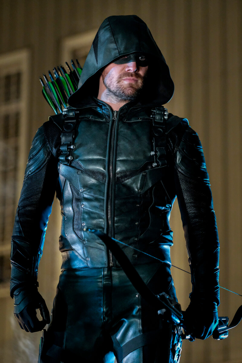 Amell as Green Arrow