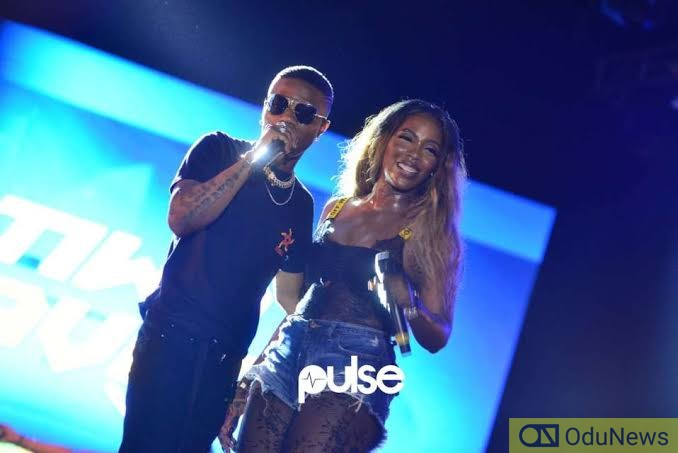 Tiwa Savage and her bestie Wizkid are back with something shocking