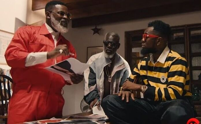 Falz and Patoranking channel their inner pranksters in Girls video