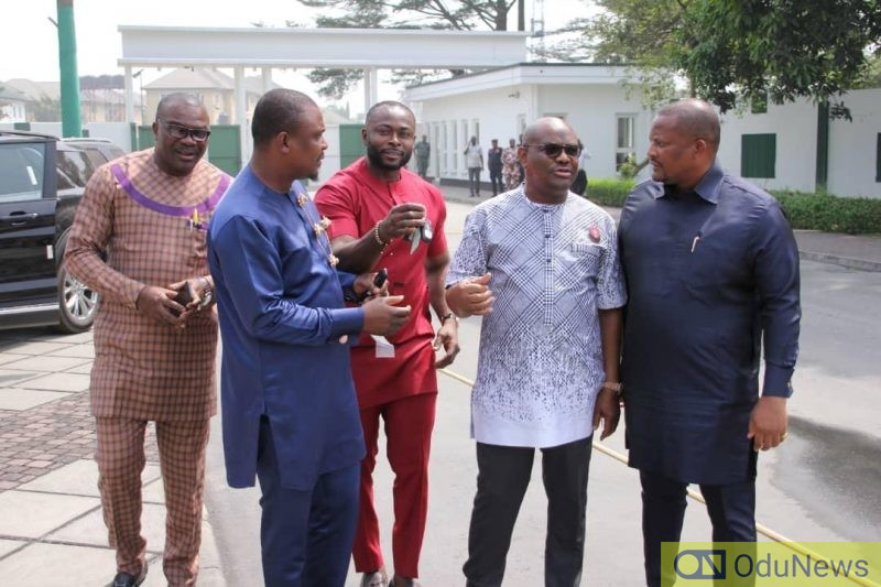 wike and some Rivers lawmakers