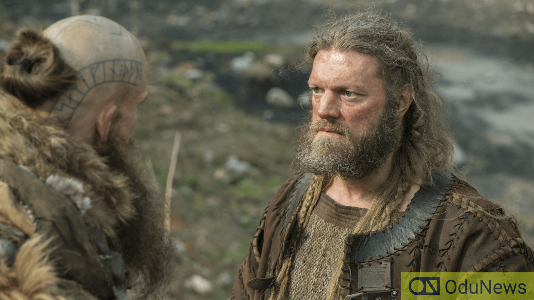 Copeland in the series VIKINGS