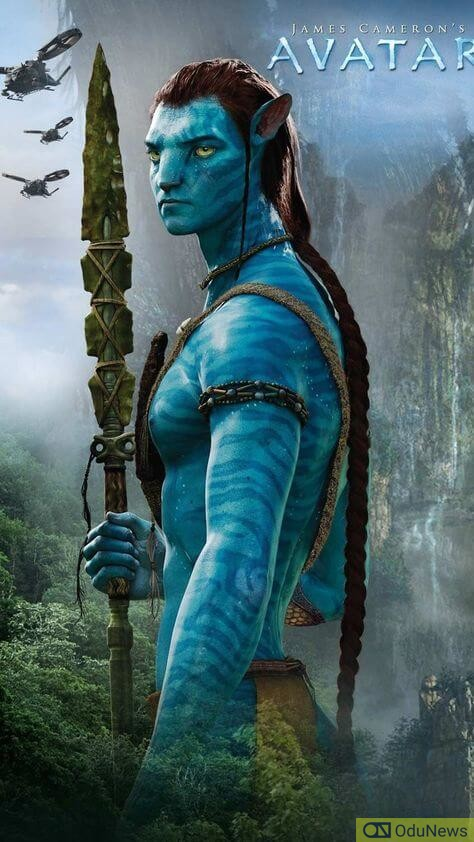 Avatar character poster