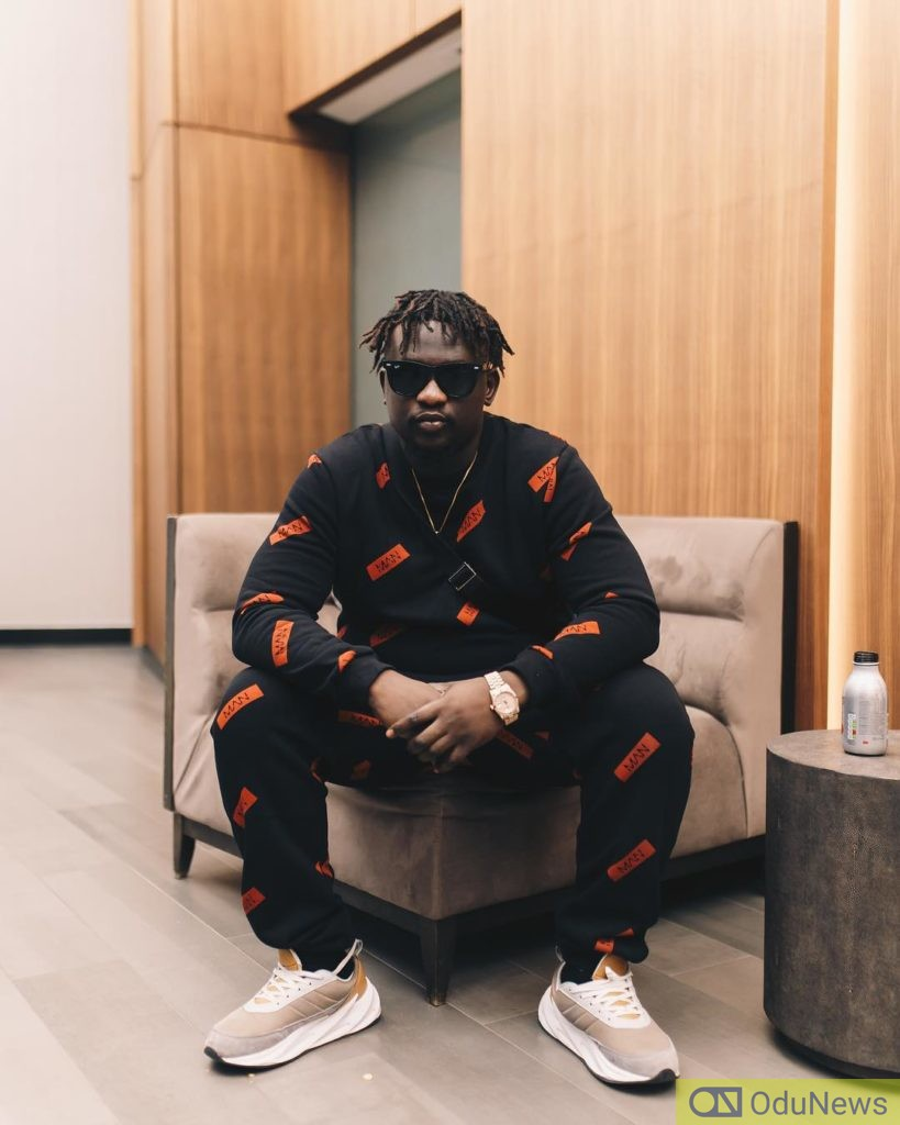 Wande Coal in March 2019 already achieving his fitness goals
