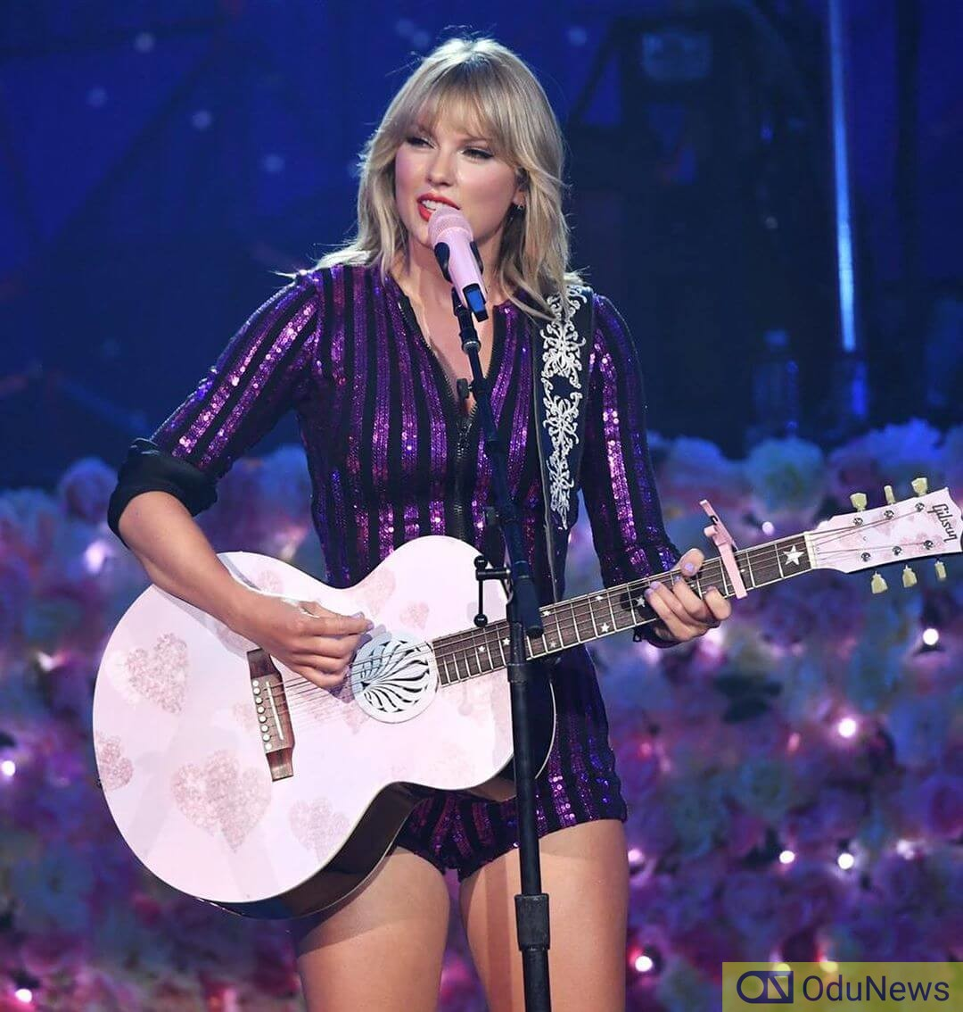 Taylor Swift was named the Artist of the Decade last year