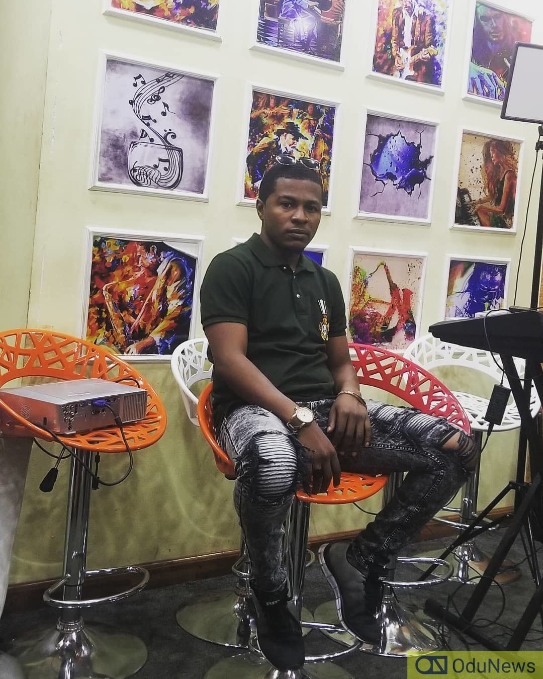 Samuel Ajibola is famous for playing Spiff in THE JOHNSONS
