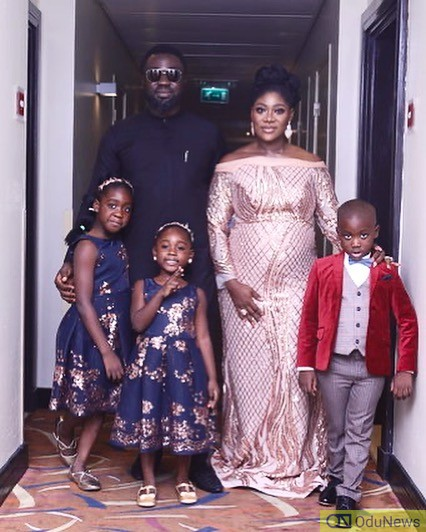 Mercy Johnson Okojie,,Prince Okojie and family