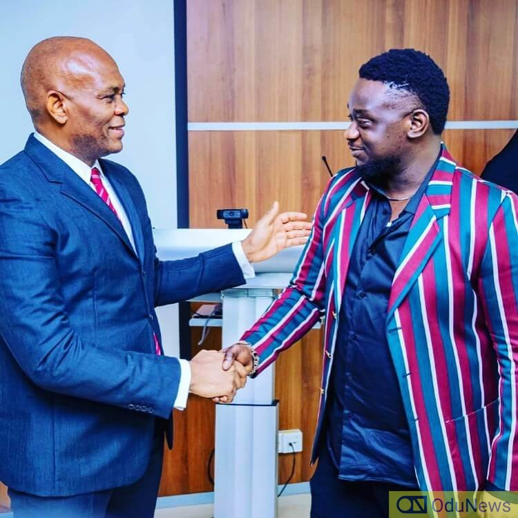 Wande Coal about to sign a major deal with Tony Elumelu's UBA Group