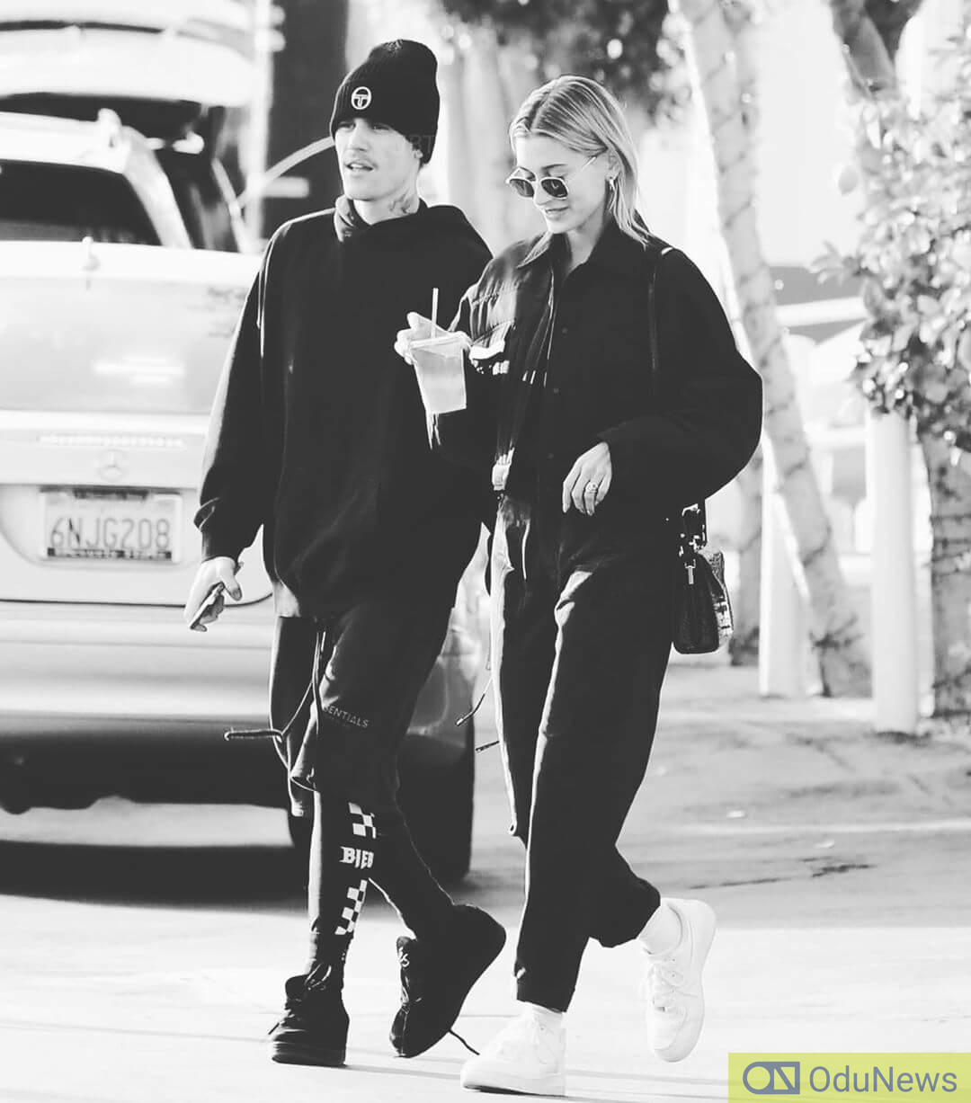 Bieber and his wife Hailey
