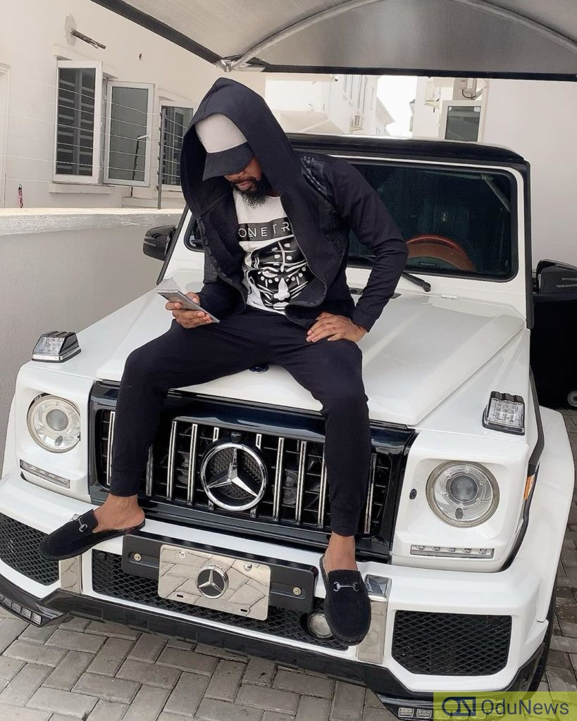 Nedu Wazobia shows off his new G-Wagon