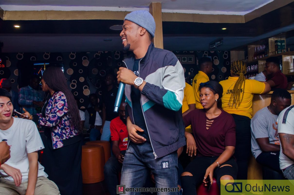 """Ralio performing at """"The Switch"""" Listening Party"""