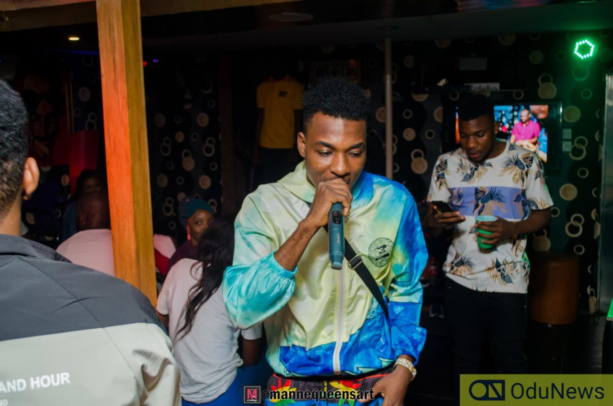 Zayo performing at The Switch Listening party