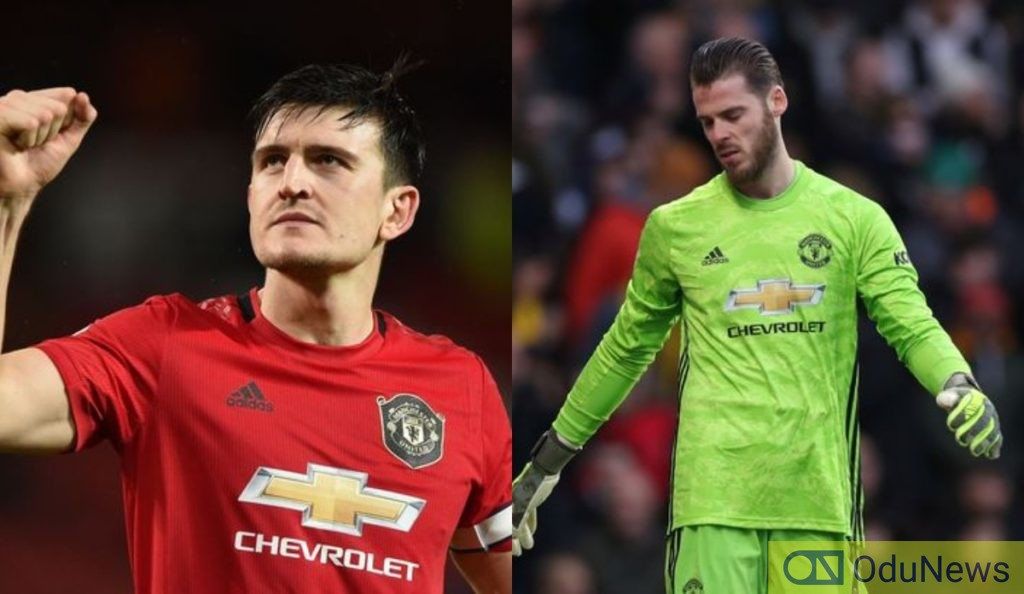 Solskjear Snubs De Gea, Names Maguire New Man Utd Captain