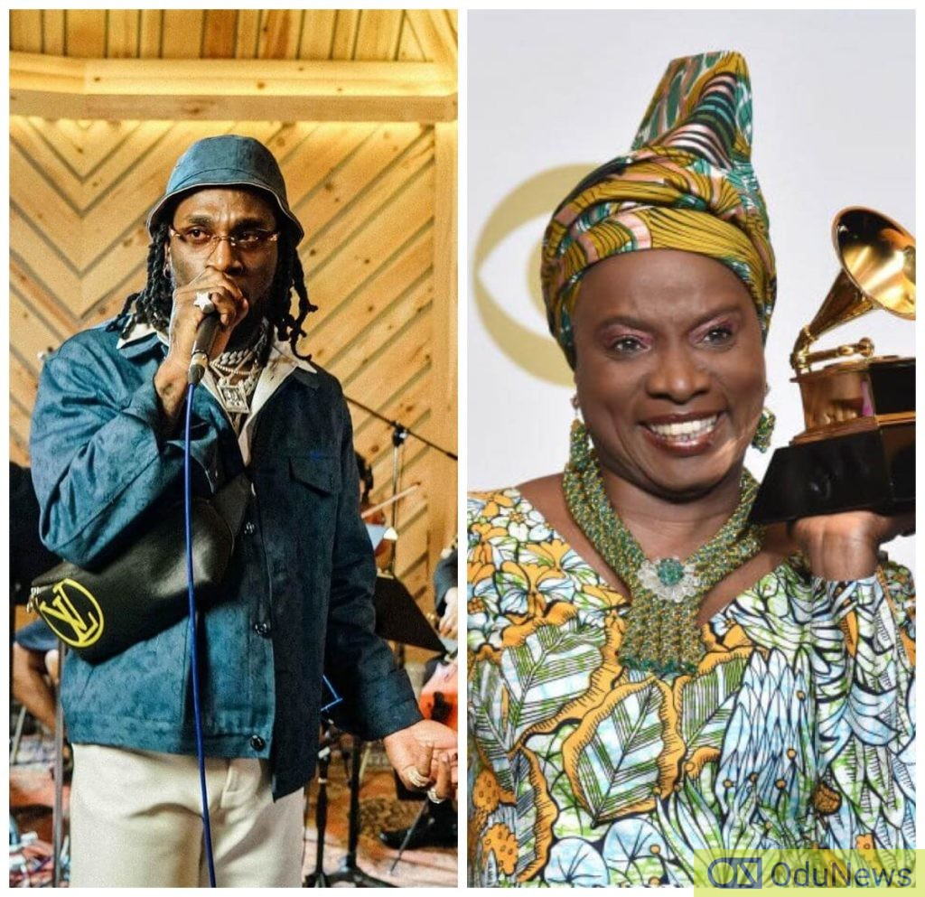 Angélique Kidjo,Burna boy