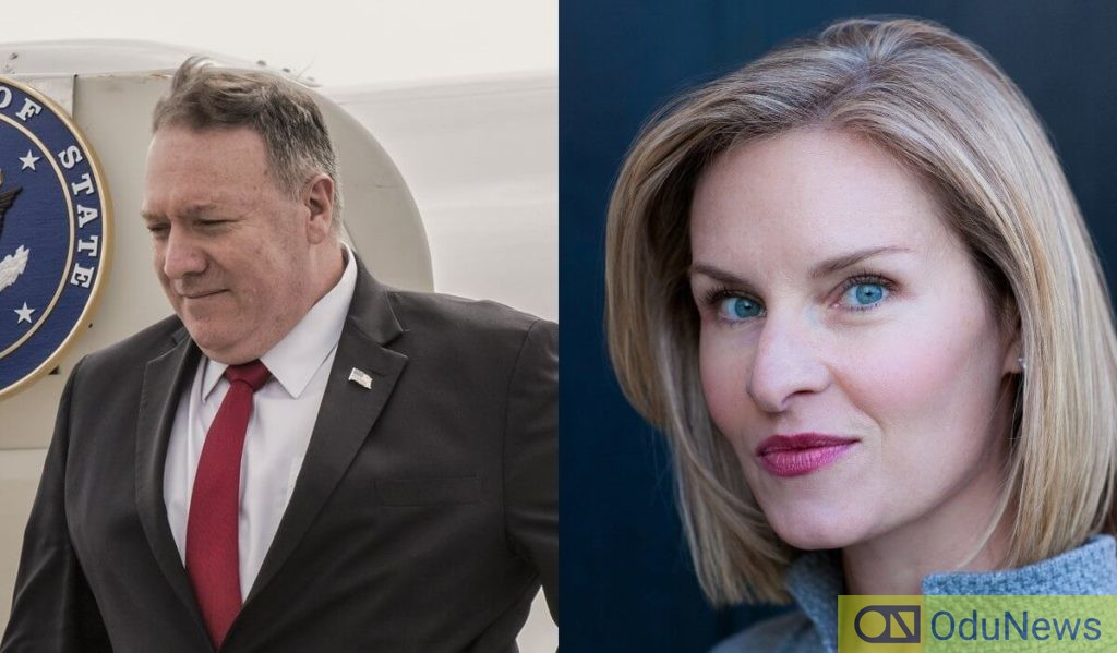 Mike Pompeo and Mary Louise Kelly