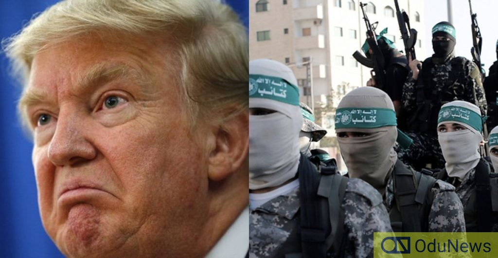 Hamas rejects President Donald Trump's deal