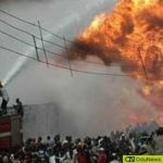 Shocking! Lone House Survives Abule-Egba Inferno