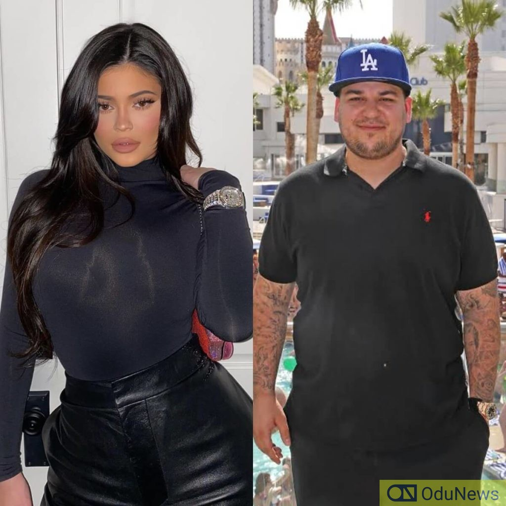 Kylie Jenner helping big brother Rob Kardashian amidst his financial troubles