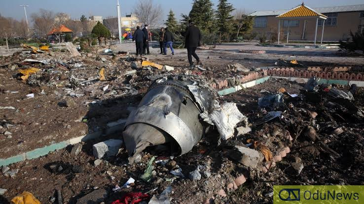 Iran Confirms Two Missiles Fired At Downed Ukraine Airliner