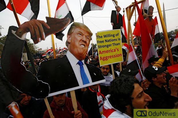 Protesters In Iraq Call For US Exit