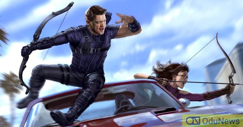 Hawkeye will work with Kate Bishop in the upcoming series