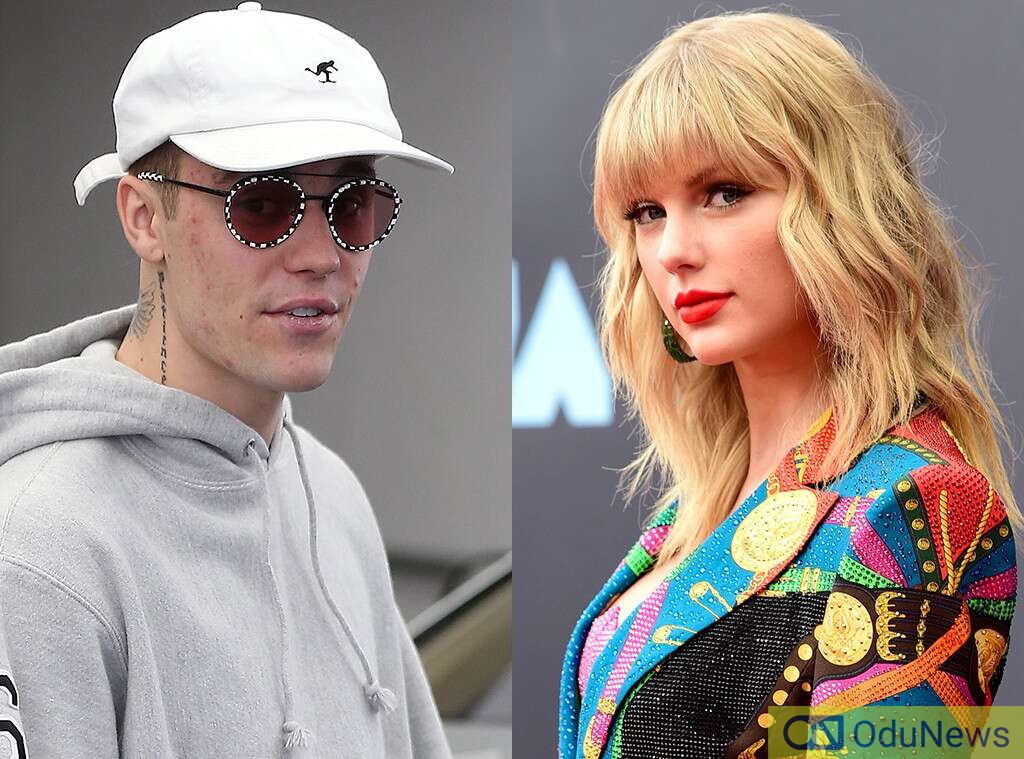 Justin Bieber and Taylor Swift clash in LA Gym