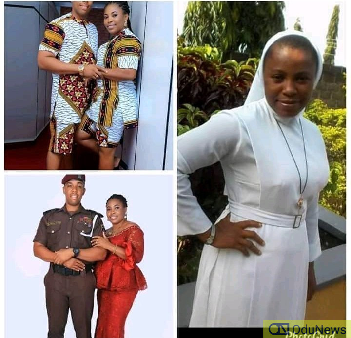 [PHOTOS] Reverend Sister Dumps Convent, Marries Policeman