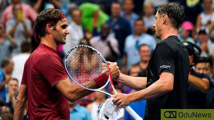 #AusOpen: Federer Defeats Millman In Five-Set Thriller