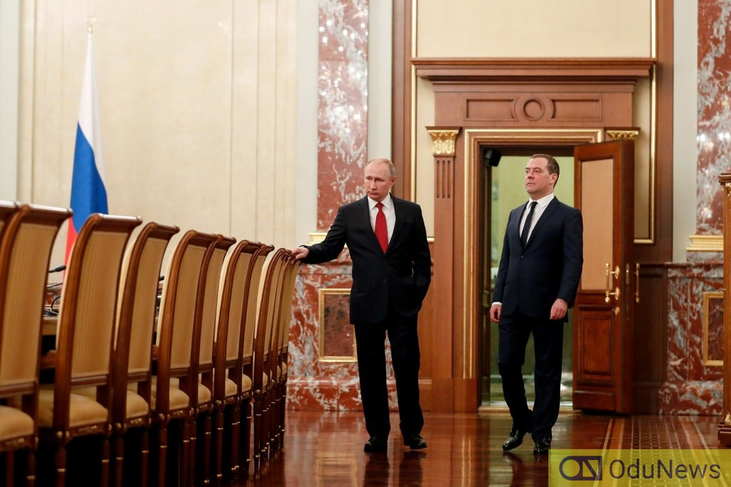 Putin Appoints New Prime Minister After Cabinet Resigned