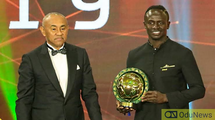 Mane Wins Africa's Best Players In 2019 [See Full List Of Winners]