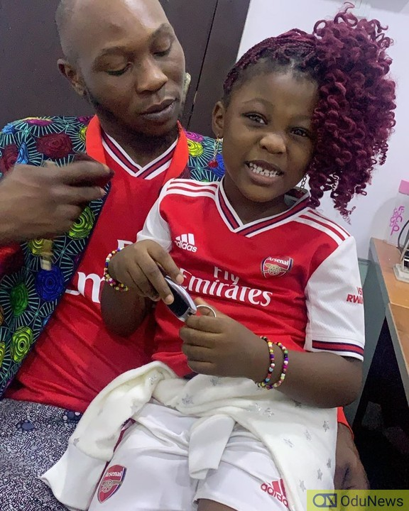 Seun Anikulapo Kuti and daughter