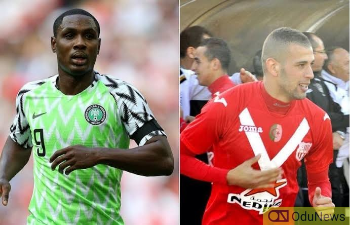 BREAKING: Man Utd To Sign Odion Ighalo, Slimani