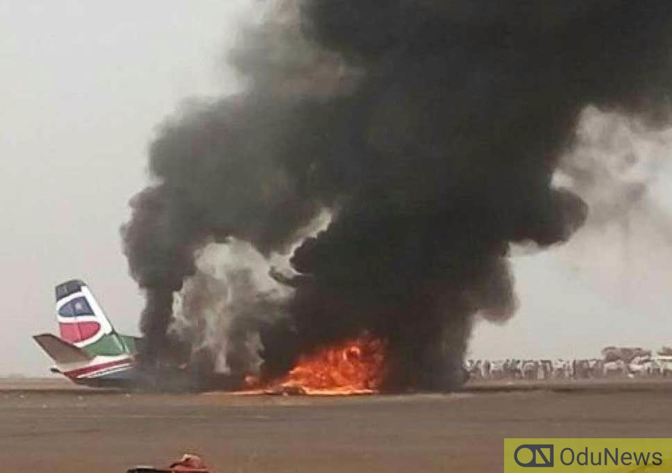 18 Killed As Plane Crashes In Sudan