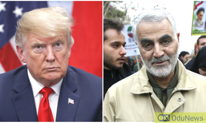 Iran's Top Politician Promises $3Million Reward 'For Whoever Kills Trump'oye, Calls Trump 'An Inspiration'