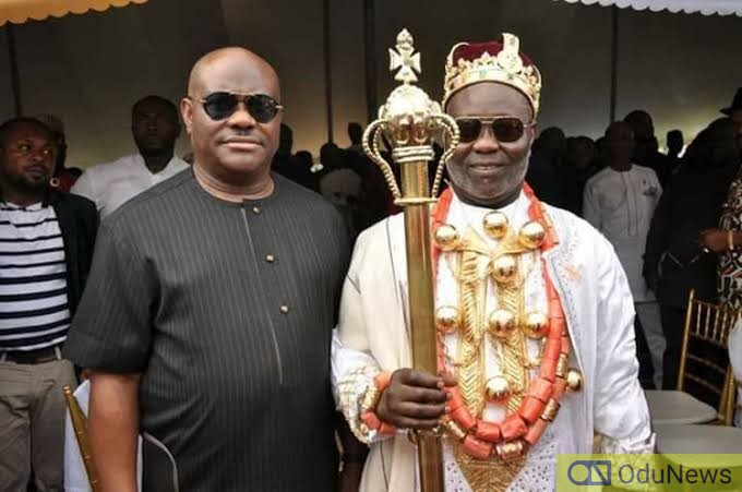Rivers Governor Wike Ridicules State's Monarchs, Calls One Of Them His Errand Boy