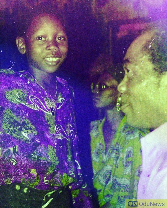 Young Seun Kuti and late father, Fela Anikulapo-Kuti