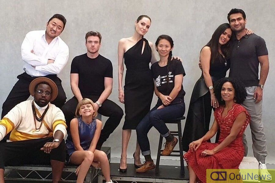 Some of the cast members of The Eternals