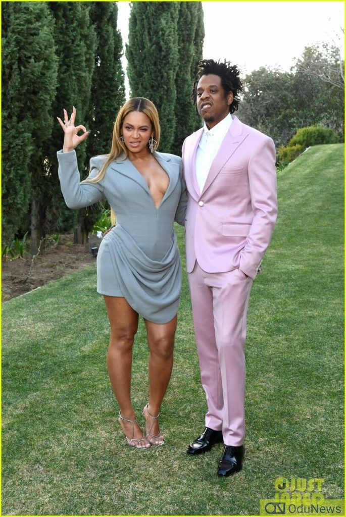 Beyonce and Jay Z steps out for Pre-Grammys 2020 Brunch with Roc Nation